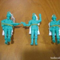 Juegos antiguos: LOTE DE JUGUETES INFANTIL. SOLDADOS PARACAIDISTAS. Lote 124217047