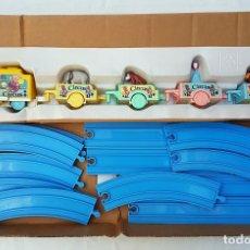 Juegos antiguos: CHICCO BABY TREN CIRCO - ANTIGUO TREN CON ANIMALES REF 63560. Lote 125029659