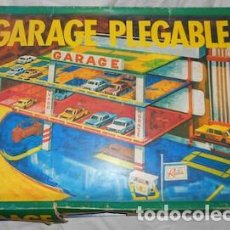 Juegos antiguos: GARAJE PLEGABLE RIMA, INCOMPLETO. Lote 126156143