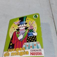 Juegos antiguos: JUEGO DE MAGIA NESTLÉ. Lote 127159010