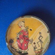 Juegos antiguos: (PUB-180710)JUEGO DE BOLAS CIRCO PAYASO DE BOLSILLO.ESPEJO REVERSO.HOJALATA.HABILIDAD. AÑOS 30. Lote 127836571