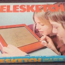 Juegos antiguos: TELESKETCH JUGUETES RACIONALES. Lote 128795820