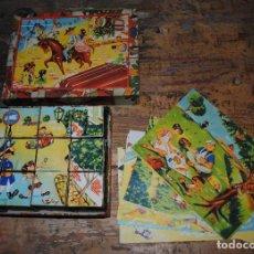 Juegos antiguos: LOTE DE DOS ANTIGUOS ROMPEZABEZAS DE CARTÓN. Lote 128809339