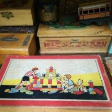 Juegos antiguos: JUEGO DE CONSTRUCCIÓN PARA NIÑOS . Lote 128864443
