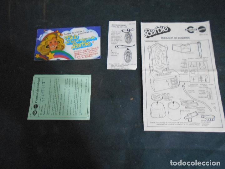 Juegos antiguos: barbie antiguo tocador año 1982 - Foto 2 - 129148807