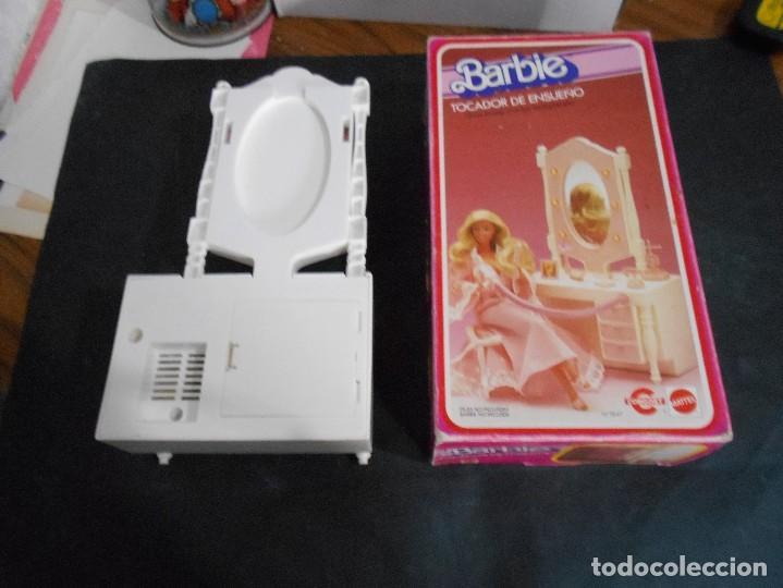 Juegos antiguos: barbie antiguo tocador año 1982 - Foto 4 - 129148807