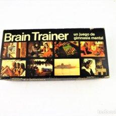 Juegos antiguos: BRAIN TRAINER JUEGO PARA GIMNASIA MENTAL. Lote 130200787