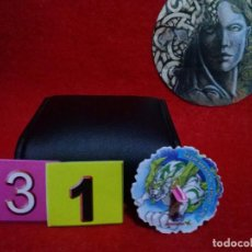 Juegos antiguos: Nº 31 - TAZO MATUTANO BEYBLADE SPINNERS - Nº4 DRIGER.. Lote 130216635