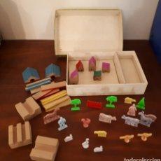 Juegos antiguos: GRANJA URBIS. JUEGO DE CONSTRUCCIÓN AÑOS 70.. Lote 131992618