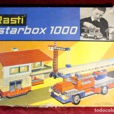 Juegos antiguos: JUEGO DE CONSTRUCCION COMPLETO RASTI STARBOX 1000. Lote 132638310