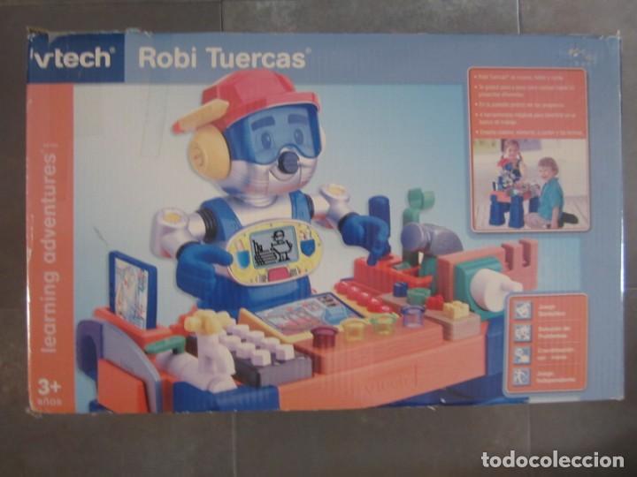 Robi Tuercas De Vtech Juguete Ninos 2 6 6 Anos Comprar Juegos