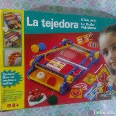 Juegos antiguos: TEJEDORA SMOBY (INCOMPLETA) .... SOLO CAJA ORIGINAL Y PIEZA PRINCIPAL (PARA COMPLETAR) AÑOS 80/90.. Lote 133049870
