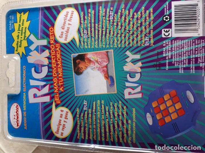 Ricky Tiger Electronics Bizak Juego De Memor Comprar Juegos