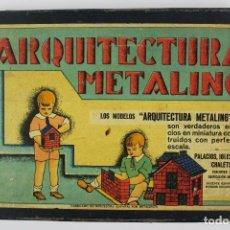 Juegos antiguos: ARQUITECTURA METALING.MODELO NUMEO 1.AÑOS 30. Lote 133808650