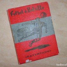 Juegos antiguos: FUTBOL DE BOLSILLO FINALES AÑOS 40. Lote 134794298