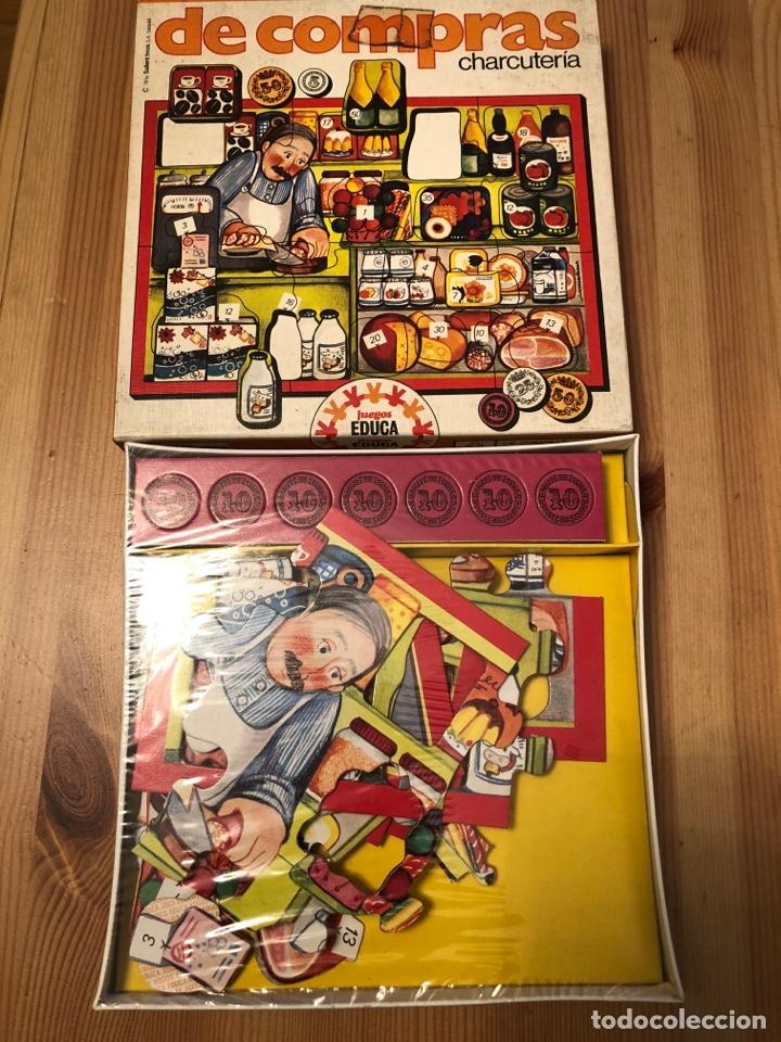 JUEGO PUZZLE DE COMPRAS EN LA CHARCUTERÍA EDUCA 79 (Juguetes - Juegos - Otros)