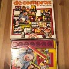Juegos antiguos: JUEGO PUZZLE DE COMPRAS EN LA CHARCUTERÍA EDUCA 79. Lote 104104794