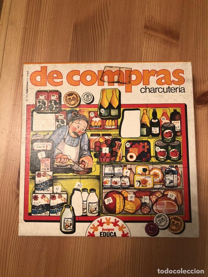 Juegos antiguos: Juego puzzle de compras en la charcutería educa 79 - Foto 3 - 104104794