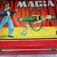 Juegos antiguos: JUEGO DE MAGIA BORRÁS DOS CON SU LIBRO DE EXPLICACIÓN. Lote 136189188