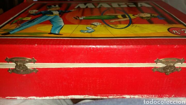 Juegos antiguos: Juego de magia Borrás dos con su libro de explicación - Foto 2 - 136189188