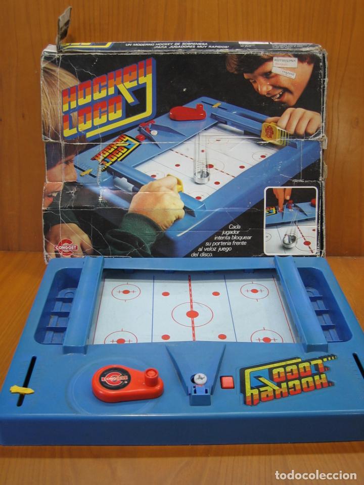 ANTIGUO JUEGO HOCKEY LOCO DE MATTEL 1978 (Juguetes - Juegos - Otros)