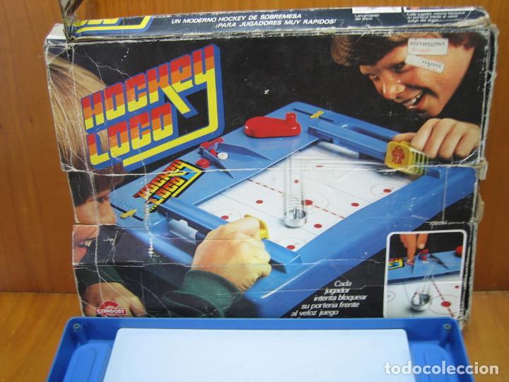 Juegos antiguos: Antiguo juego Hockey loco de Mattel 1978 - Foto 5 - 136288938