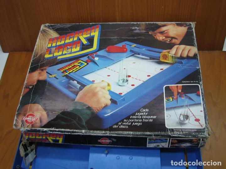 Juegos antiguos: Antiguo juego Hockey loco de Mattel 1978 - Foto 8 - 136288938
