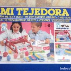 Juegos antiguos: JUEGO MI TEJEDORA SERIE NOVA, ORIGINAL AÑOS 80 VER FOTOS Y DESCRIPCION! SM. Lote 136408986