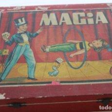 Juegos antiguos: ANTIGUO JUEGO MAGIA BORRAS Nº 2, CAJA MADERA, AÑOS 50. Lote 136515802