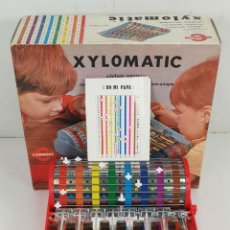 Juegos antiguos: XILÓFONO MECÁNICO. XYLOMATIC. JUGUETE DE CONGOST. CAJA ORIGINAL. 1970.. Lote 136717258