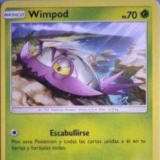 Juegos antiguos: WIMPOD BASICO ESCABULLIRSE APISONAR CARTA POKEMON ORIGINAL ESPIRITUAZUL. Lote 137244594
