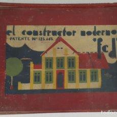 Juegos antiguos: JUEGO EL CONSTRUCTOR MODERNO. MARCA FCD. CAJA NÚMERO 3. CIRCA 1930. . Lote 137484734