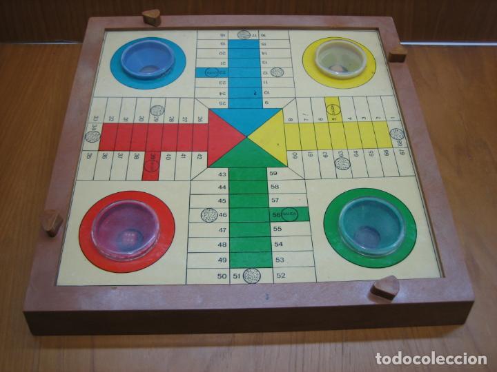 ANTIGUO JUEGO DE MESA PARCHIS (Juguetes - Juegos - Otros)