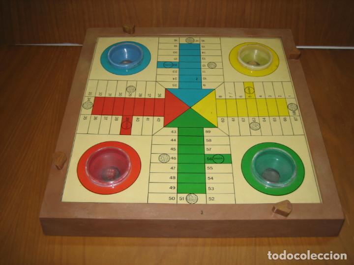 Juegos antiguos: Antiguo juego de mesa Parchis - Foto 2 - 138669502