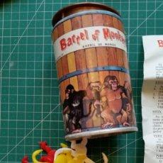 Juegos antiguos: BARRIL DE MONOS DE CONGOST DE 1969 NUEVO CON INSTRUCCIONES. Lote 138821290