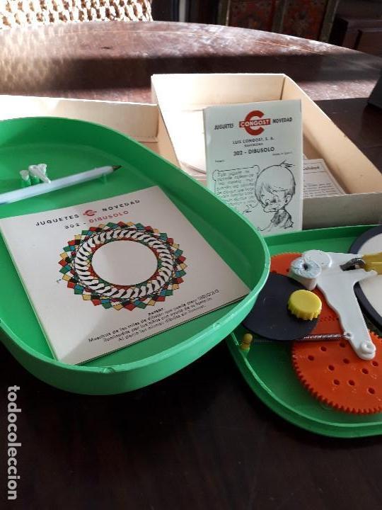 Juegos antiguos: Dibusolo de Congost. Sin estrenar. En su caja original. Completo. Años 60 - Foto 4 - 138833654