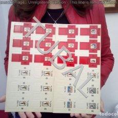 Juegos antiguos: TUBAL AJEDREZ Y DAMERO DE CARTÓN DE EDIFIL 450 GRS. Lote 139154390
