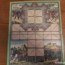 Juegos antiguos: JUEGO DE LA FORTALEZA Y SOLDADOS ANTIGUO. Lote 139489670