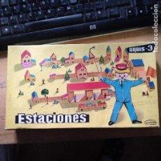 Juegos antiguos: URBIS 3 ESTACIONES - GOULA JUEGO CONSTRUCCION CON INSTRUCCIONES GASTOS DE ENVIO GRATIS. Lote 139698446