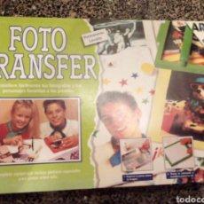 Juegos antiguos: FOTO TRANSFER AÑO 1993. Lote 139758269