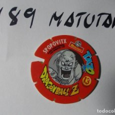 Juegos antiguos: TAZO DRAGONBALL MATUTANO 1989 Nº 13. Lote 140219230