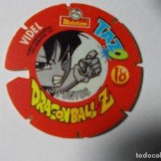 Juegos antiguos: TAZO DRAGONBALL MATUTANO 1989 Nº 18. Lote 140219490