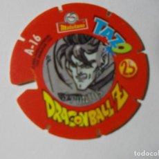 Juegos antiguos: TAZO DRAGONBALL MATUTANO 1989 Nº 25. Lote 140219670