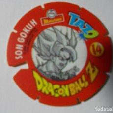 Juegos antiguos: TAZO DRAGONBALL MATUTANO 1989 Nº 14. Lote 140219698