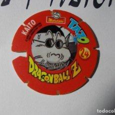 Juegos antiguos: TAZO DRAGONBALL MATUTANO 1989 Nº 24. Lote 140219762