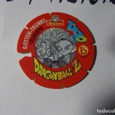 Juegos antiguos: TAZO DRAGONBALL MATUTANO 1989 Nº 15. Lote 140219834