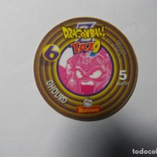 Juegos antiguos: TAZO DRAGON BALL MATUTANO Nº 6. Lote 140356098
