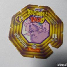 Juegos antiguos: TAZO DRAGON BALL Z MATUTANO Nº 43. Lote 140356406