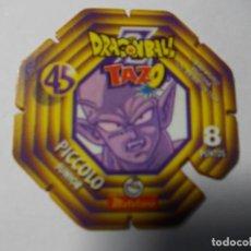 Juegos antiguos: TAZO DRAGON BALL Z MATUTANO Nº 45. Lote 140356602