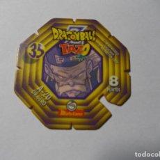 Juegos antiguos: TAZO DRAGON BALL Z MATUTANO Nº 35. Lote 140356642